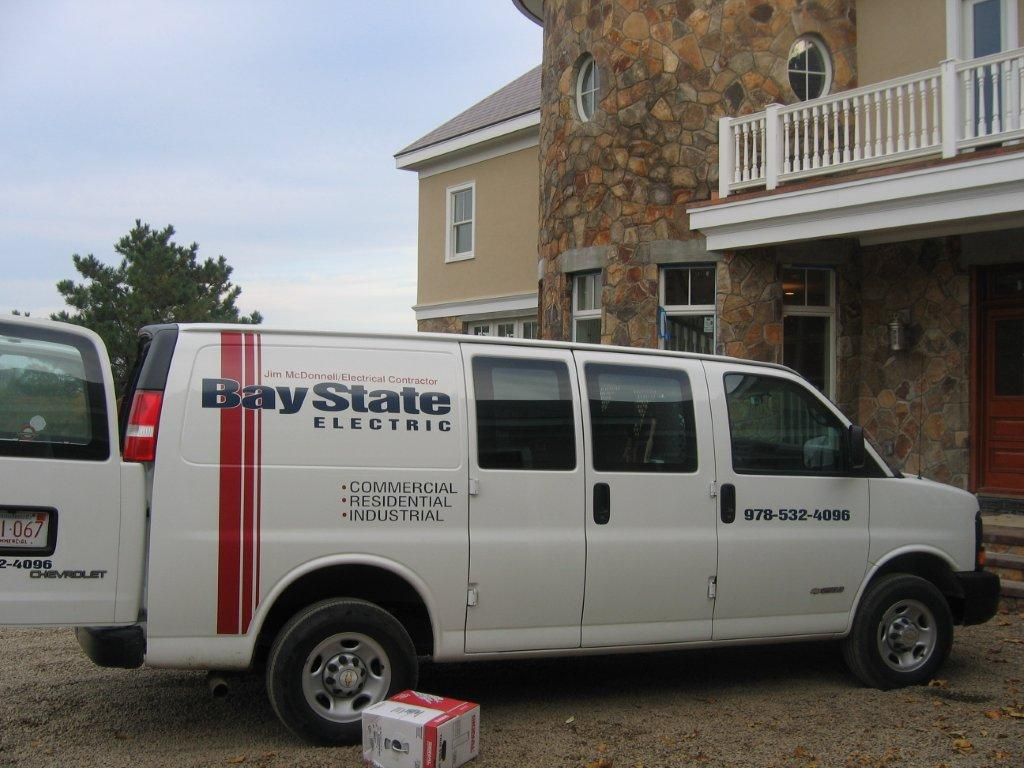 Bay State Electric Truck - Commercial, Residential, and Industrial Electrician